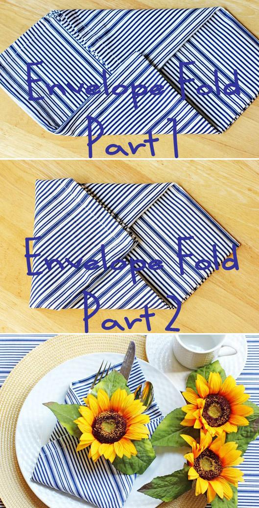 Envelope napkin