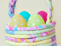Fabric Easter Basket DIY 200x150 9 Clever Easter Craft Ideas
