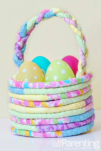Fabric Easter Basket DIY