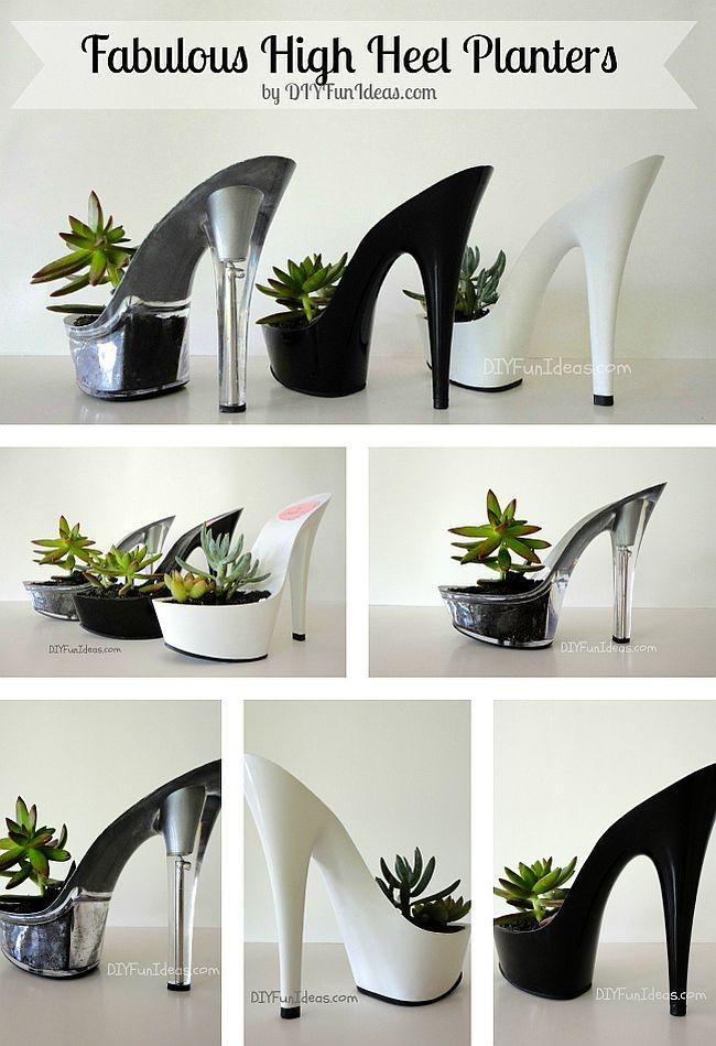 Fabulous Heel PLanters