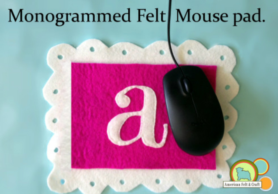 Felt Mousepad