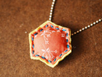 Felt and Fabric Necklace 200x150 10 Mothers Day Jewellery Gift Ideas to Make Yourself