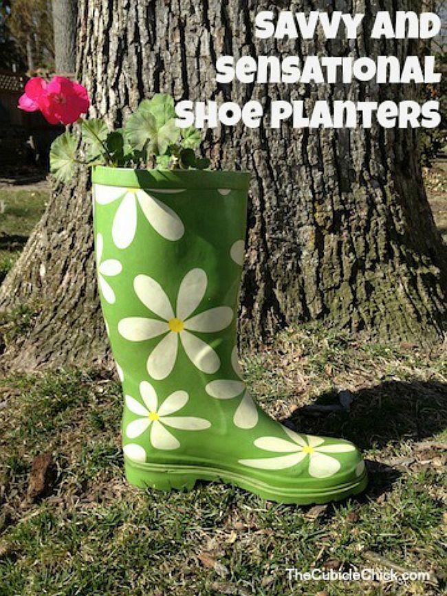 Flower power planter