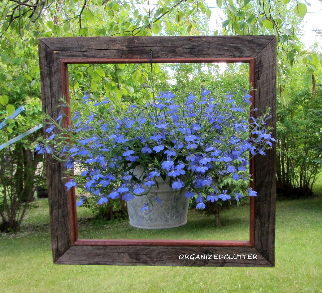 Framed Garden Pot