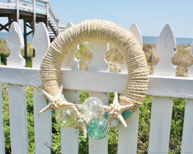 Glass Wreath