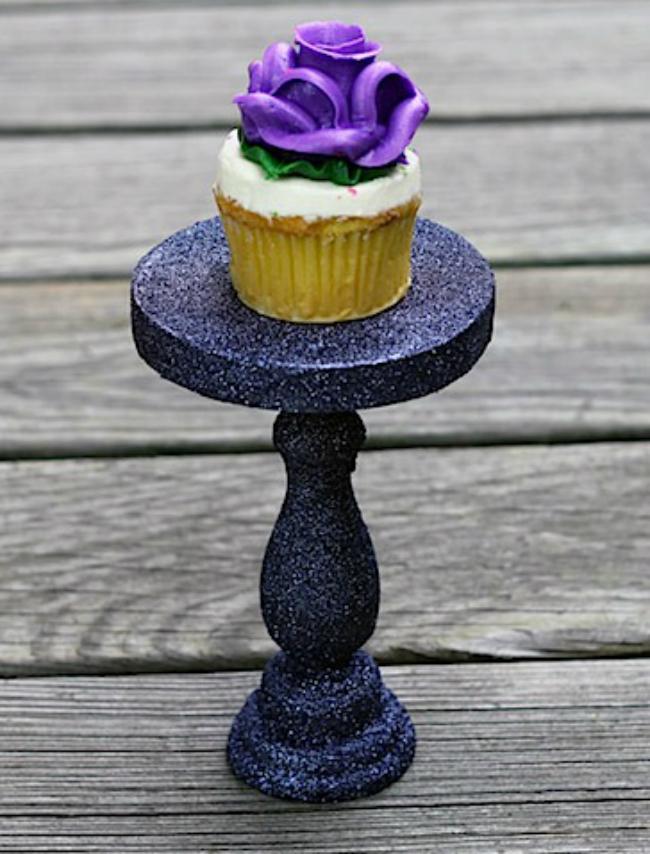 Glitter Cupcake Stand