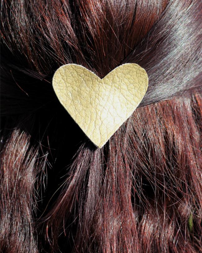 Heart Shape Hair Clip