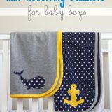 Endearing DIY Fabric Baby Blankets to Wrap Your Bundle of Joy In