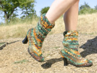 Knitted Boots 200x150 Stylish Ways To Revamp Old Boots On A Budget
