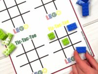 LEGO Tic Tac Toe 200x150 DIY Tic Tac Toe Games for Your Children