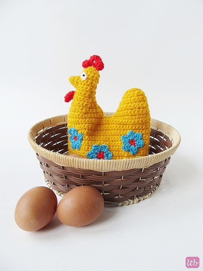 Little Hen Egg Cosy