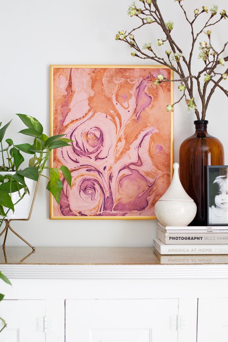 Marble Art Piece