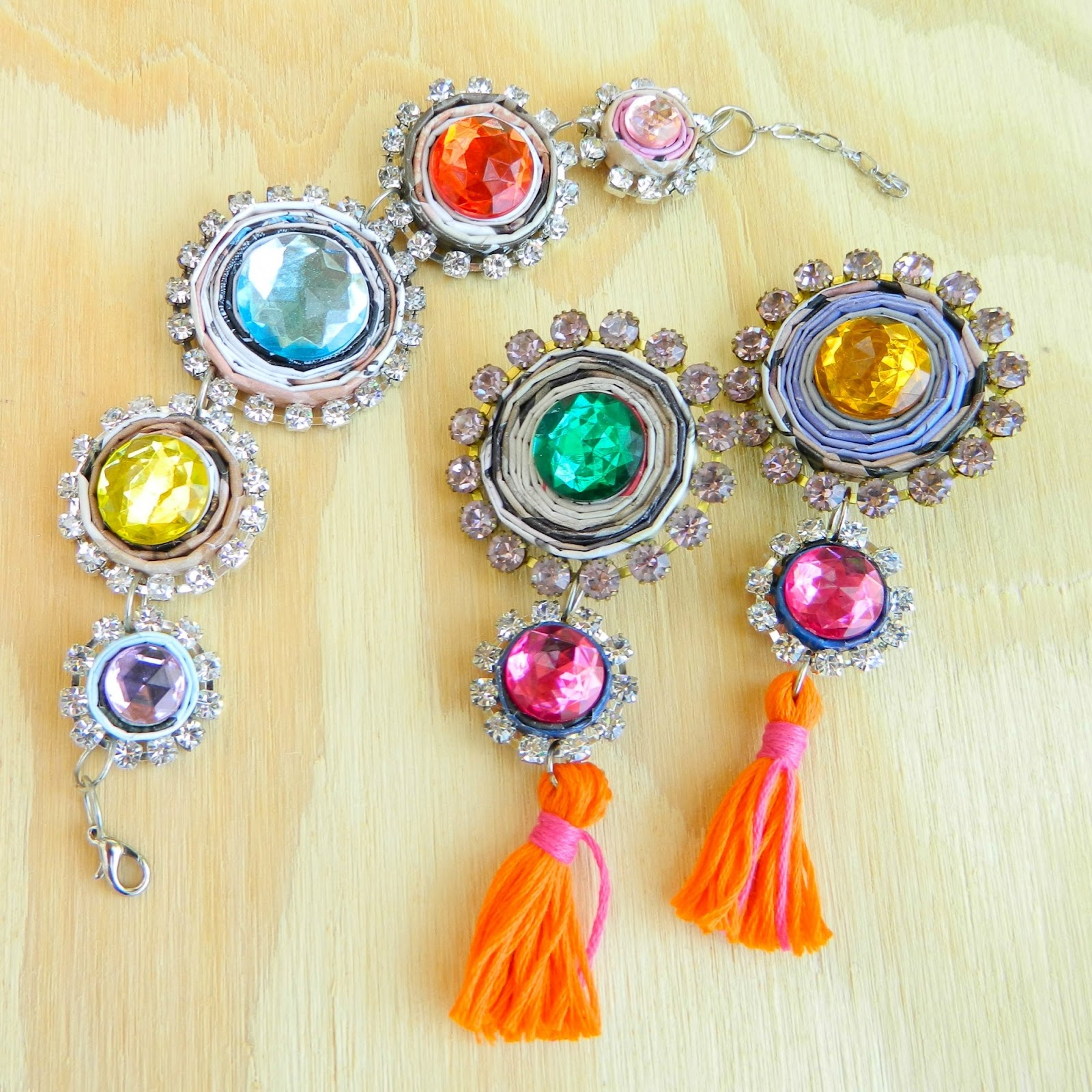 Matching Colourful Jewellery