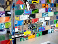 Mosaic Splashback 200x150 Colourful Mosaic Designs for Your Home
