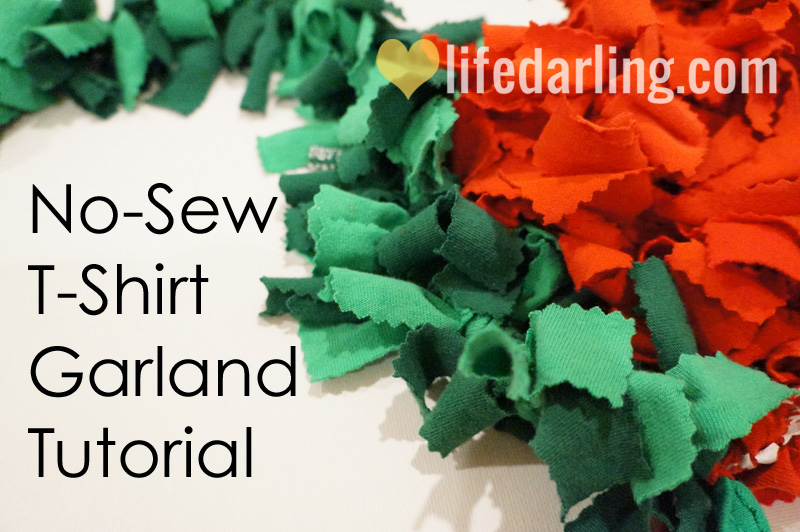 No-Sew-T-Shirt-Garland
