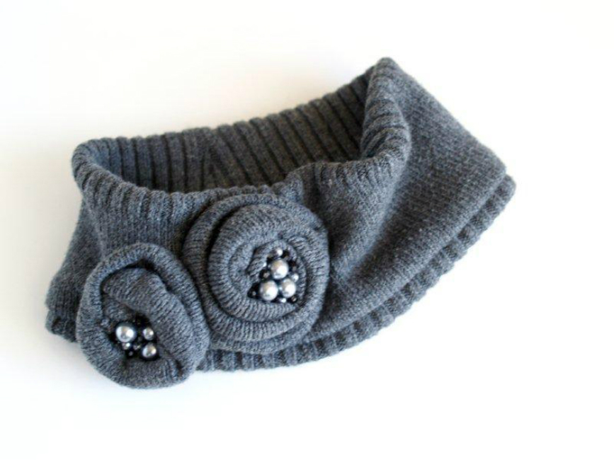 Old Sweater Headband
