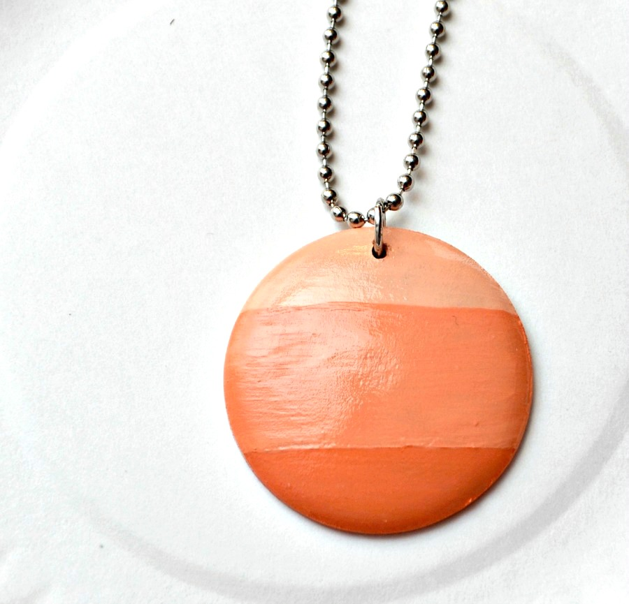 Ombre Wood Necklace