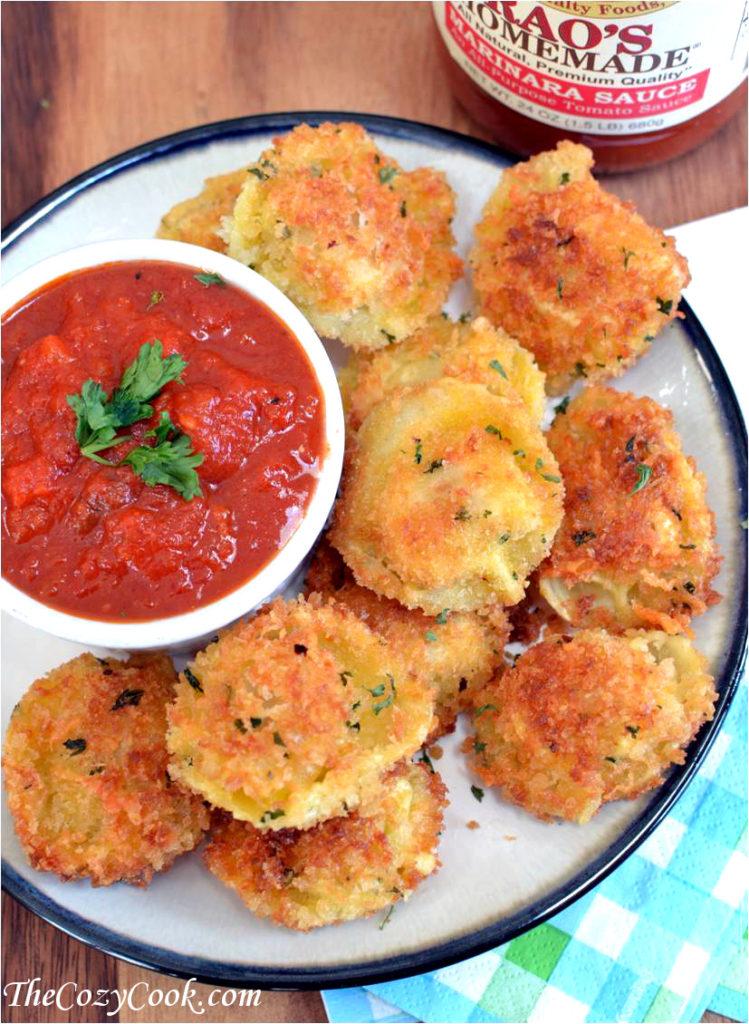 Parmesan-Tortellini-Bites