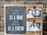 Photo Holder 200x150 Last Minute Crafting: Gorgeous DIY Mothers Day Gifts