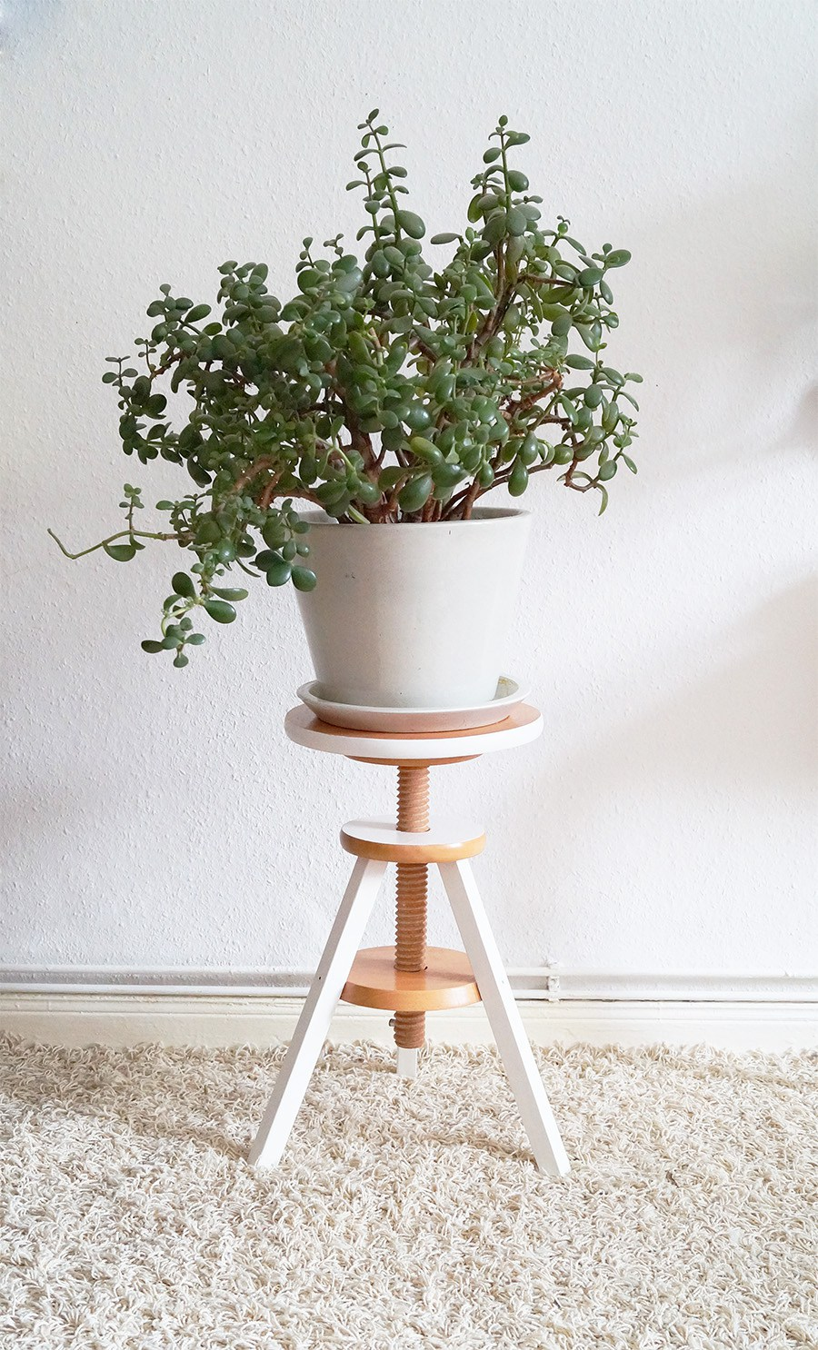 Piano Stool Planter