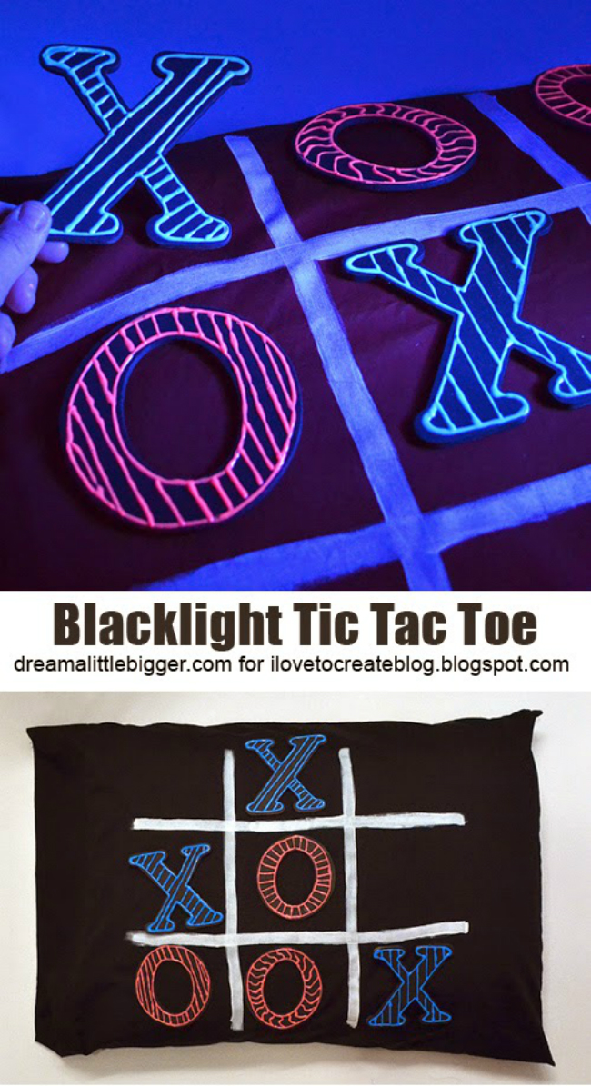 Pillow Tic Tac Toe