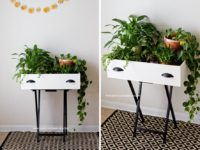 Plant Stand 200x150 Awesome Ways To Upcycle Old Drawers