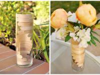 Popsicle stick vase 200x150 Unconventional Flower Displays for Spring
