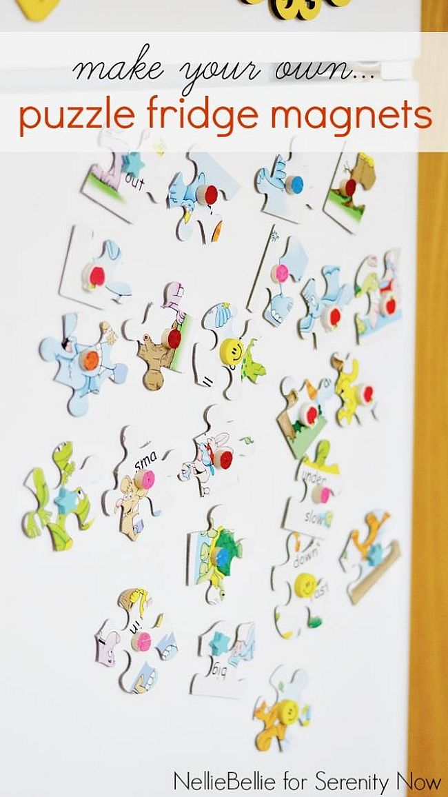 Puzzle Fridge Magnets