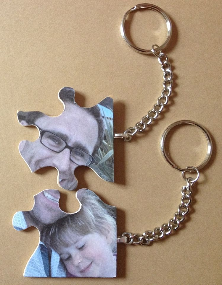 Puzzle Photo Keyrings