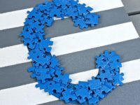 Puzzle Piece Letter Art 200x150 Get Creative With Jigsaw Puzzle Pieces