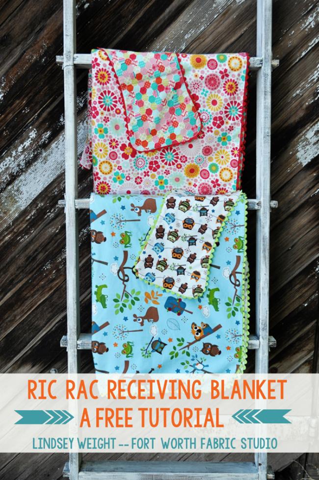 Ric Rac Baby Blanket