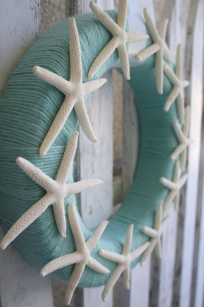 Simple Starfish Wreath