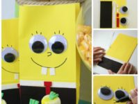 Spongebob Party Favor craft 200x150 Your Child Will Be Amazed by These SpongeBob Crafts and DIY Party Ideas