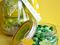 St. Patricks Day Mason Jar Party Favors 200x150 14 Fun and Festive Ideas for Your St. Patricks Day Celebrations