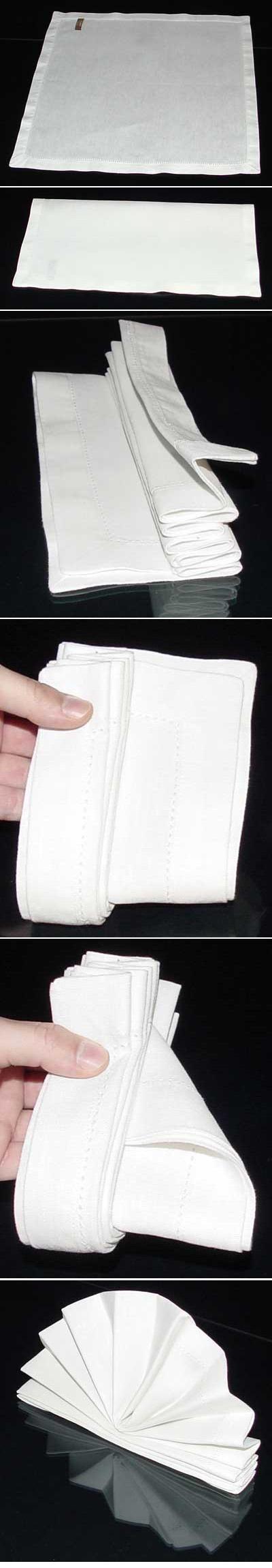 Standing fan napkin