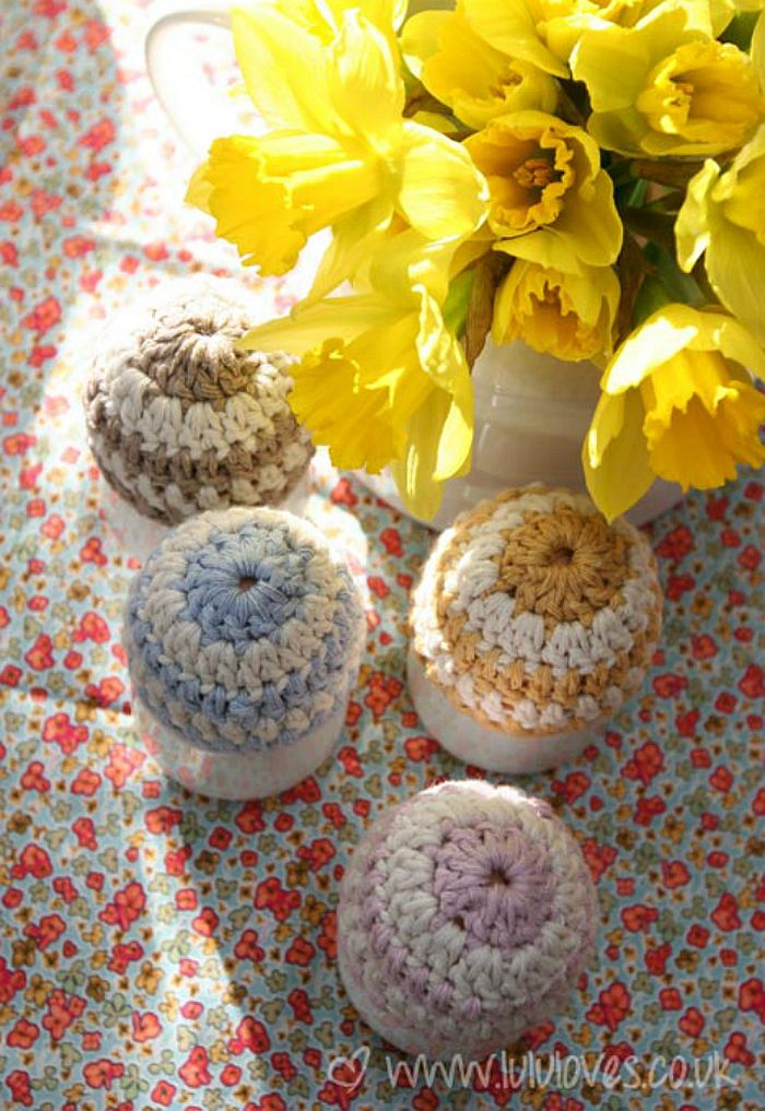 Stylish Easter Egg Beanies