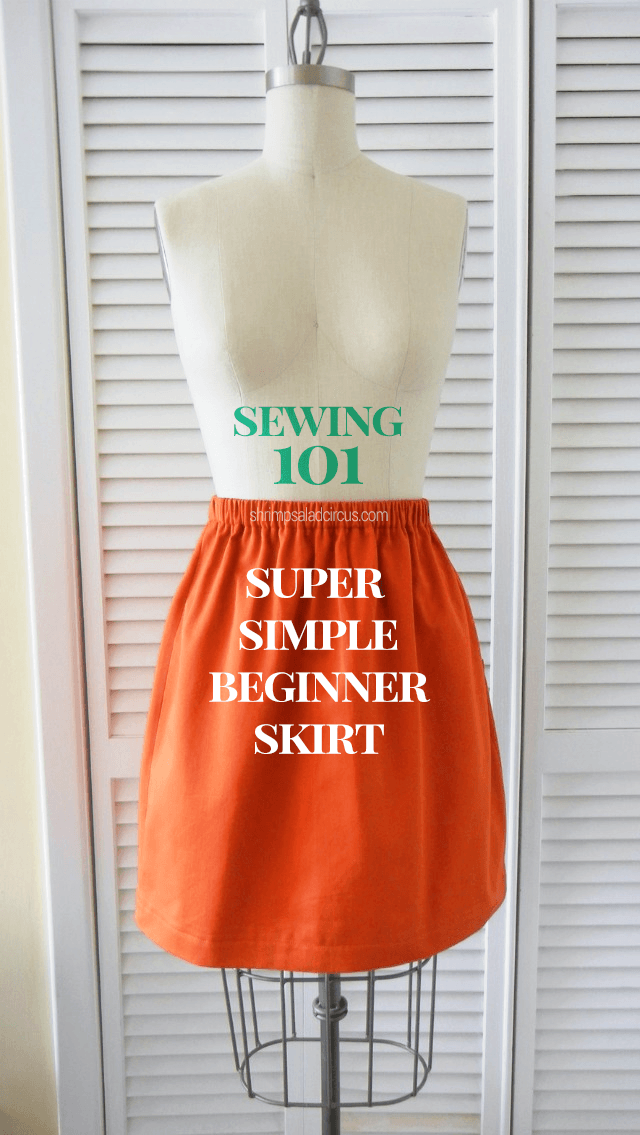 Super Simple Beginner Skirt