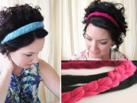 T Shirt Headband 200x150 13 DIY Projects to Make with Old T Shirts