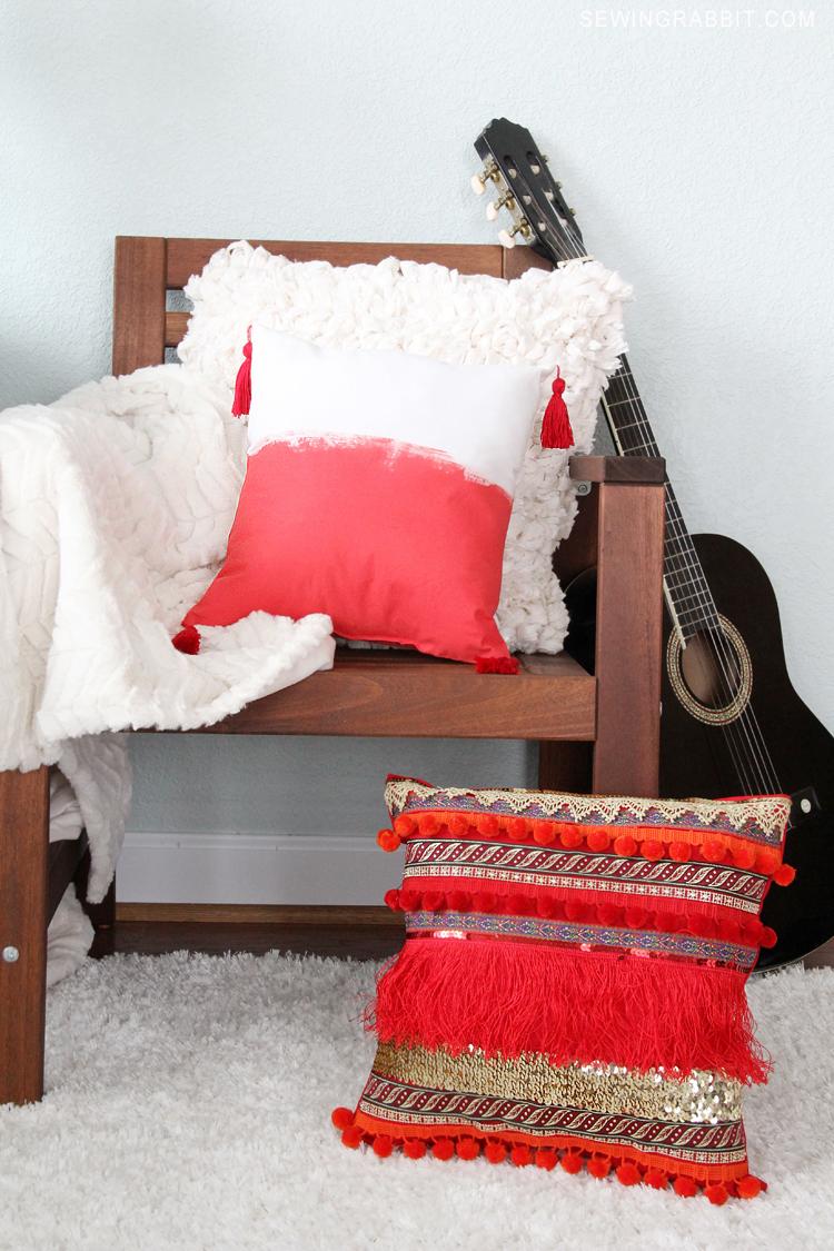 Tassel Pillows