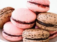Tasty Raspberry macarons 200x150 19 Delicious Macaron Recipes You Simply Cant Resist