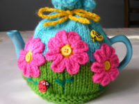 Tea Cosy 200x150 9 Lovely Knitted Tea Cosy Patterns