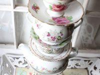 Tea Set Vase 200x150 Unconventional Flower Displays for Spring