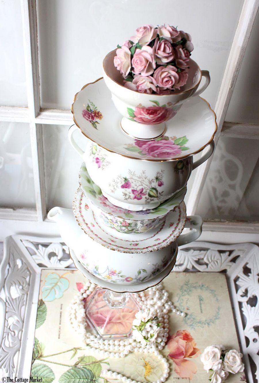 Tea Set Vase