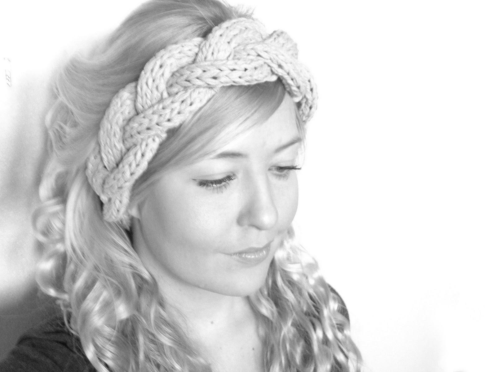 Three Cable Strand Headband