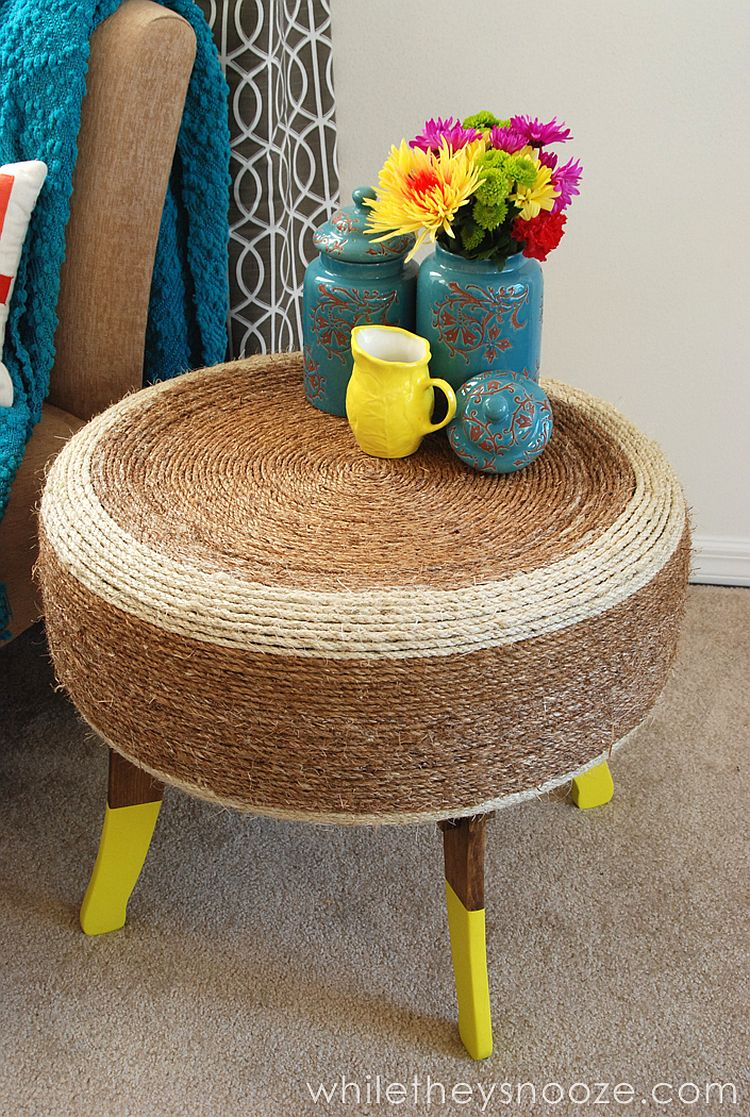 Trendy Rope Table