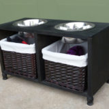 11 DIY Dog Feeding Stations