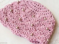 Vintage Pearl Baby Hat 200x150 Chic and Cozy: These Baby Crochet Hats Are Simply Adorable!