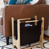 Easy DIY Magazine Racks to Make