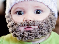 bobble beard 200x150 Chic and Cozy: These Baby Crochet Hats Are Simply Adorable!