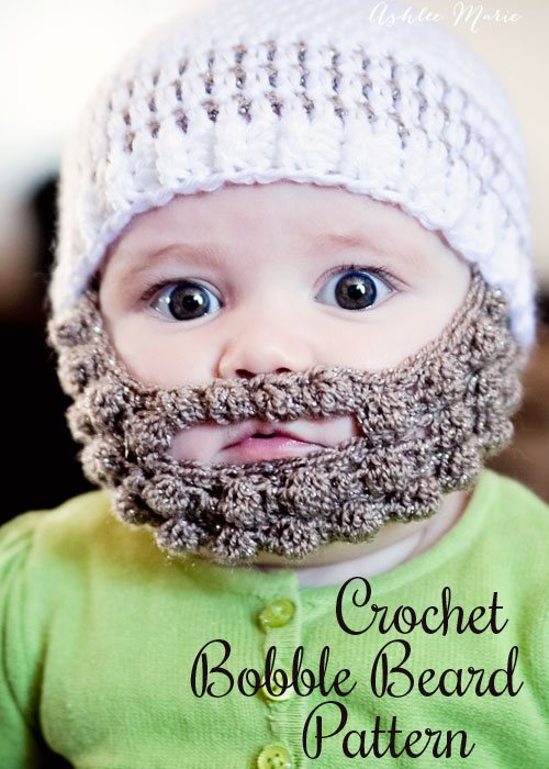 2383b216c14 VIEW IN GALLERY bobble beard. For a unique hat that s sure to make you  smile every time you see your baby wearing it